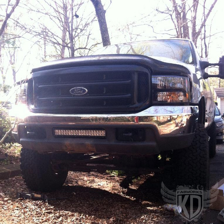 Bumper Brackets For 20 Led Light Bar 99504 Ford Superduty F250