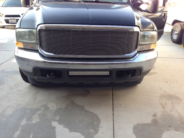 Bumper brackets for 20 led light bar 995 04 ford superduty f250 quick view mozeypictures Choice Image