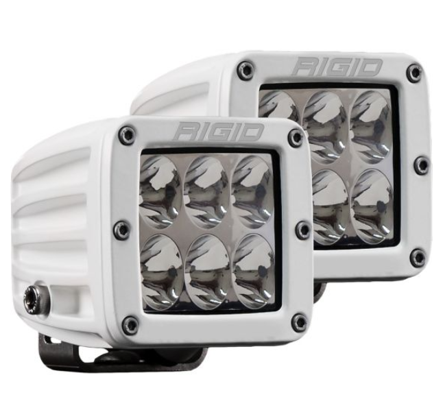 Rigid Industries D-Series PRO - Driving - Pair  (WHITE)