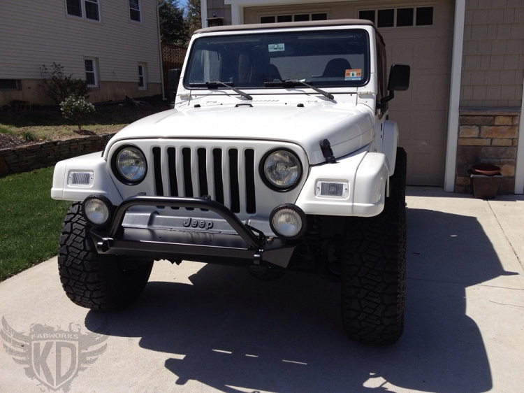 97 06 tj front rock crawler 43 bumper with trail bar aloadofball Image collections