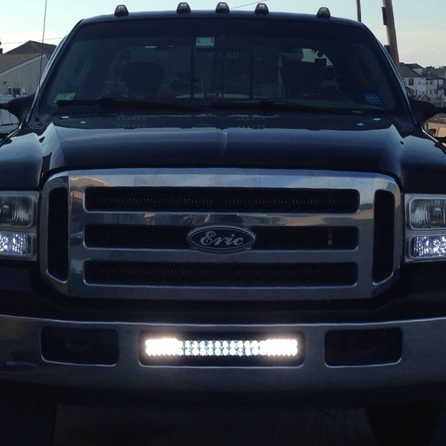 Bumper brackets for 20 led light bars 05 07 ford superduty f250 quick view aloadofball Gallery