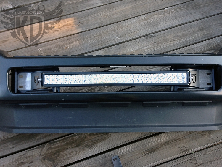 Bumper brackets for 30 led light bars 11 16 ford superduty f250 f350 aloadofball Gallery