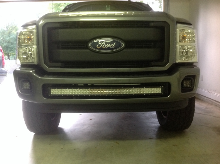Bumper brackets for curved 40 led light bars 11 16 ford superduty quick view aloadofball Image collections