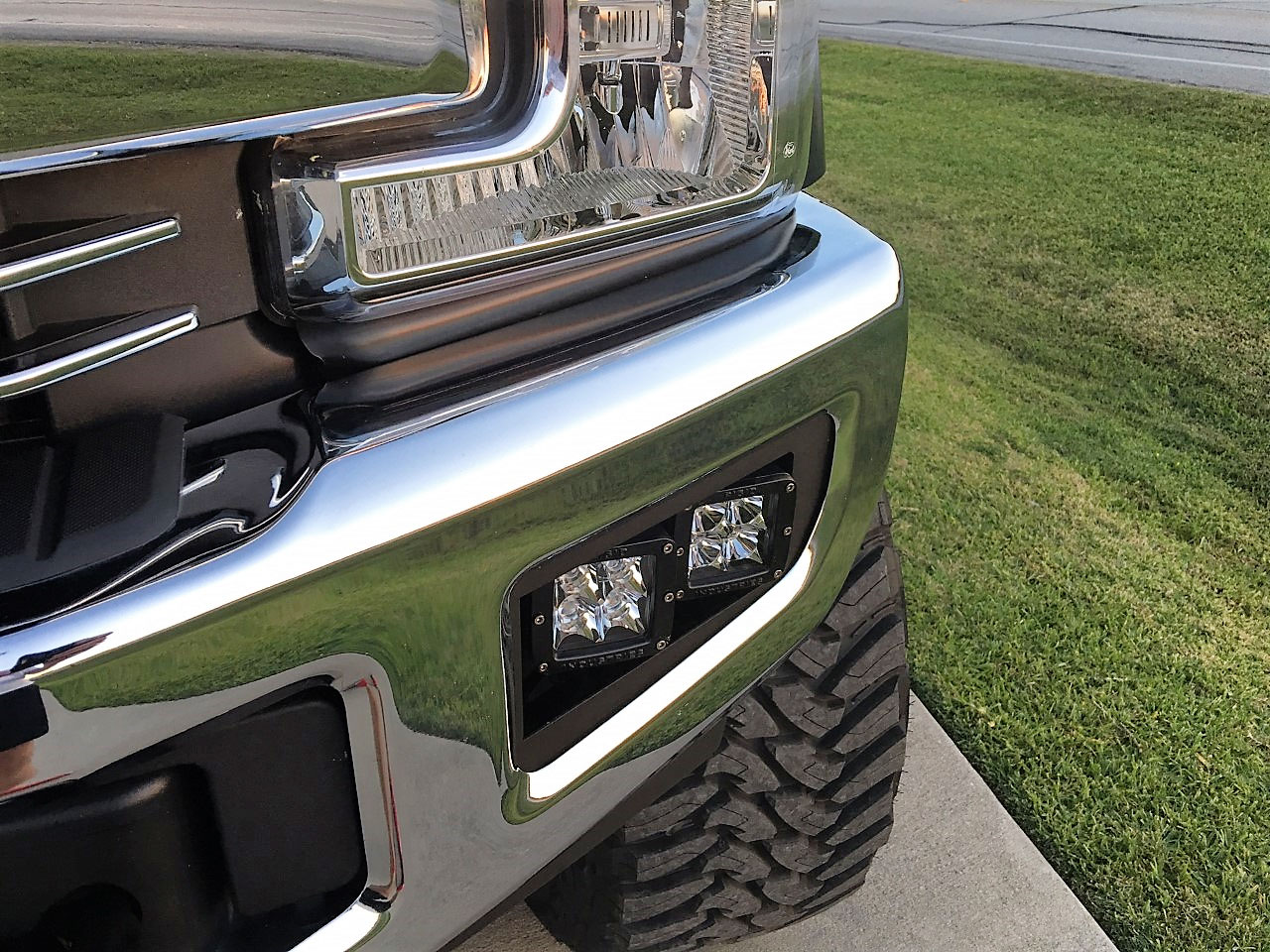 2017+ F250/350/450 Dual Rigid Dually/Baja Design Squadron Mounts