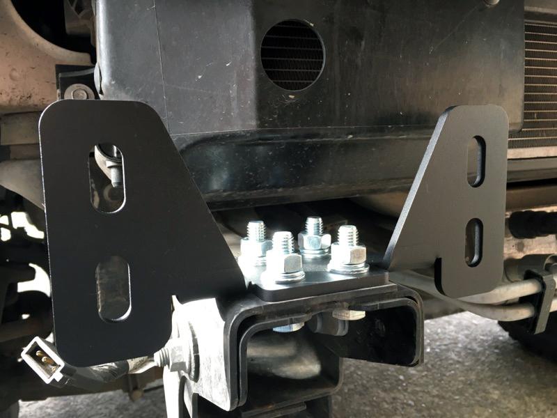 Tow Hooks For Trucks >> Tow Hook Eliminator Brackets 2017 Super Duty
