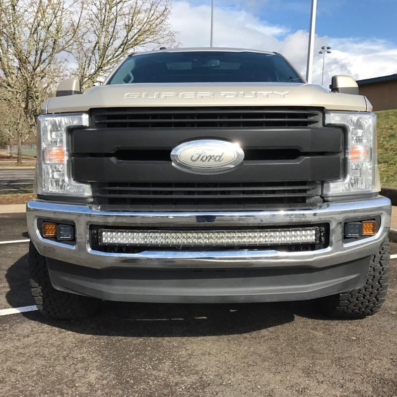 40 Curved Led Light Bar Brackets For 2017 Super Duty