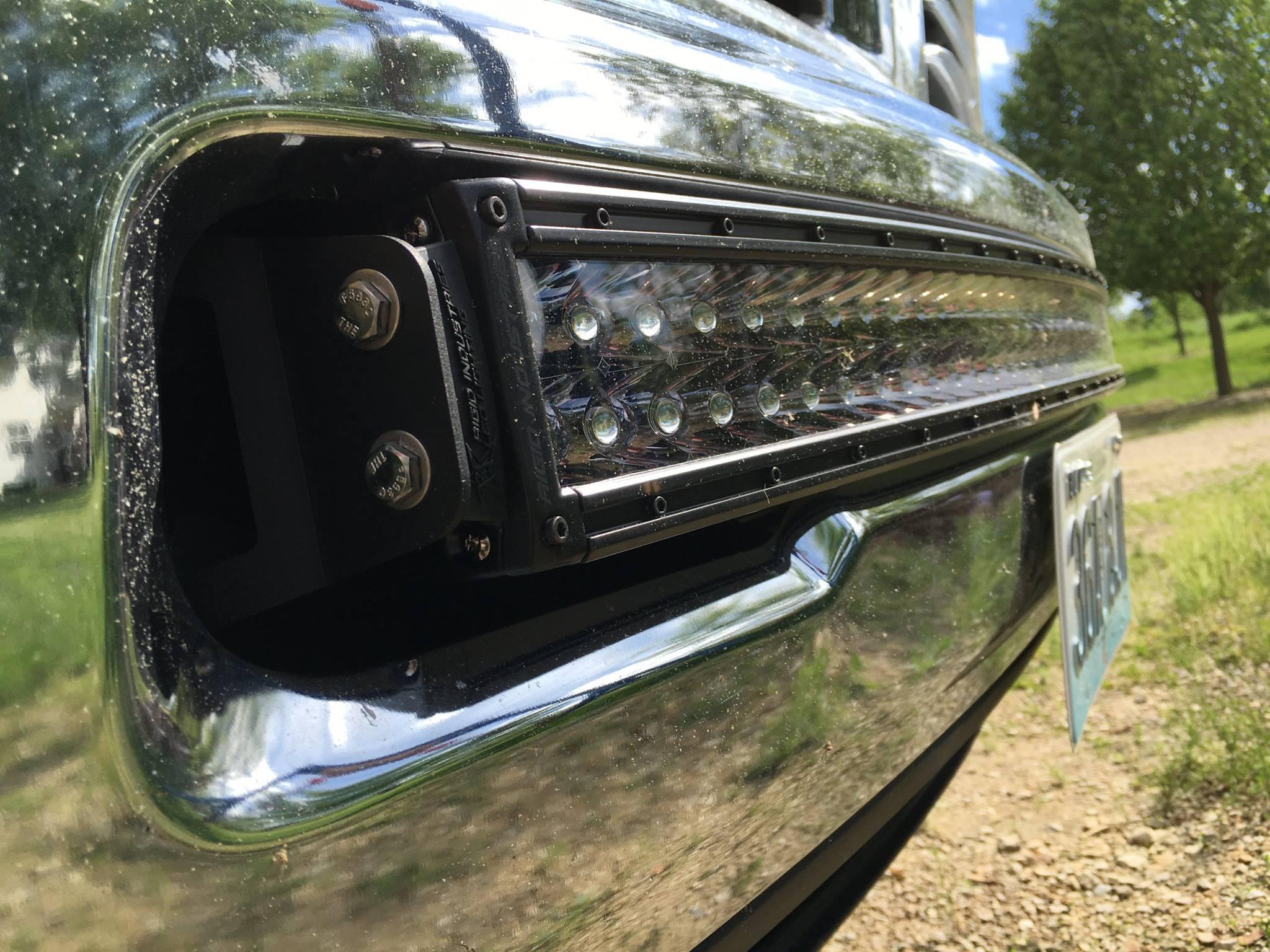 10 16 25003500 40 rigid rds light bar bumper brackets aloadofball Images