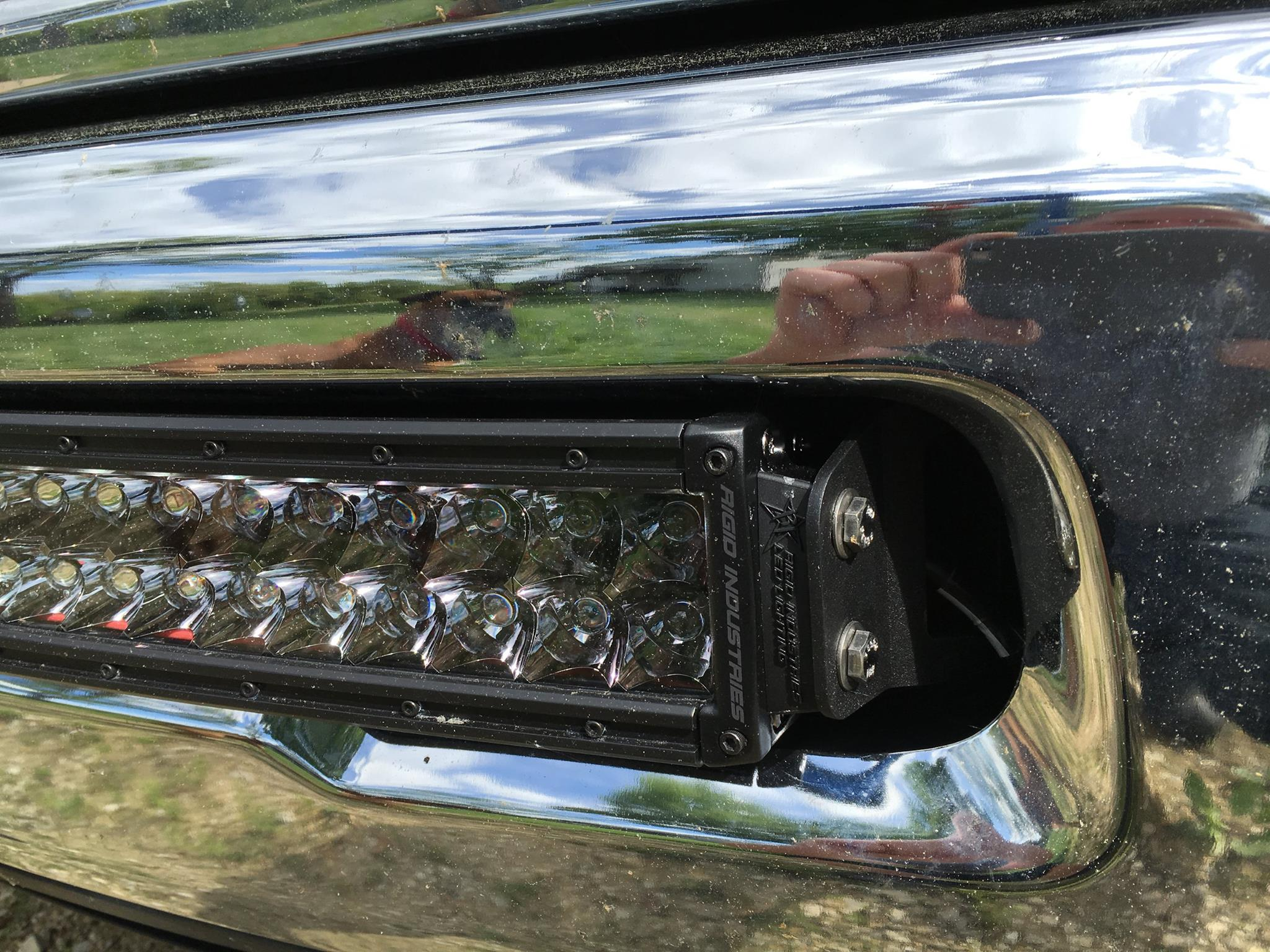 10 16 25003500 40 rigid rds light bar bumper brackets quick view aloadofball Choice Image