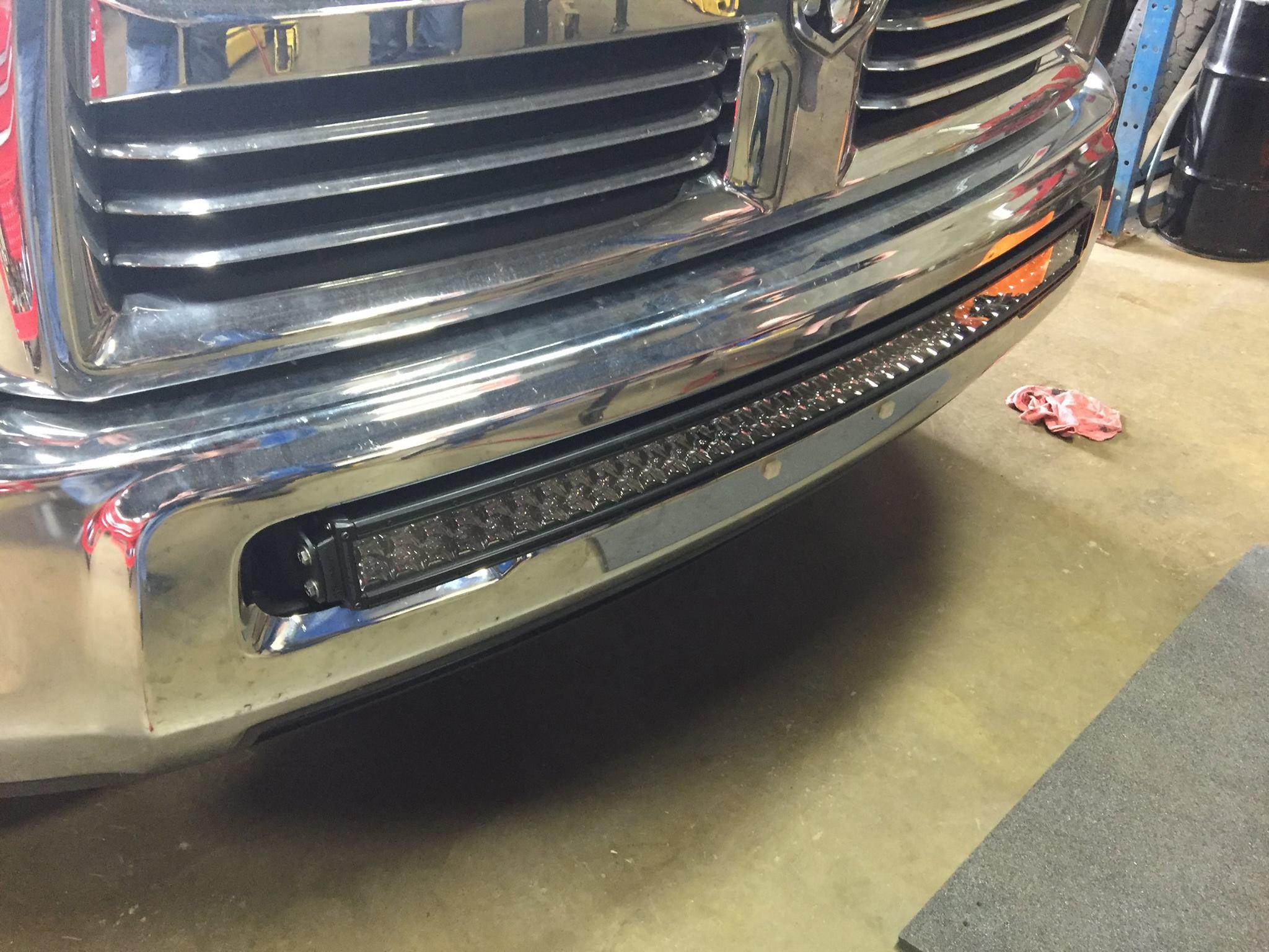 10 16 25003500 40 rigid rds light bar bumper brackets quick view aloadofball Gallery