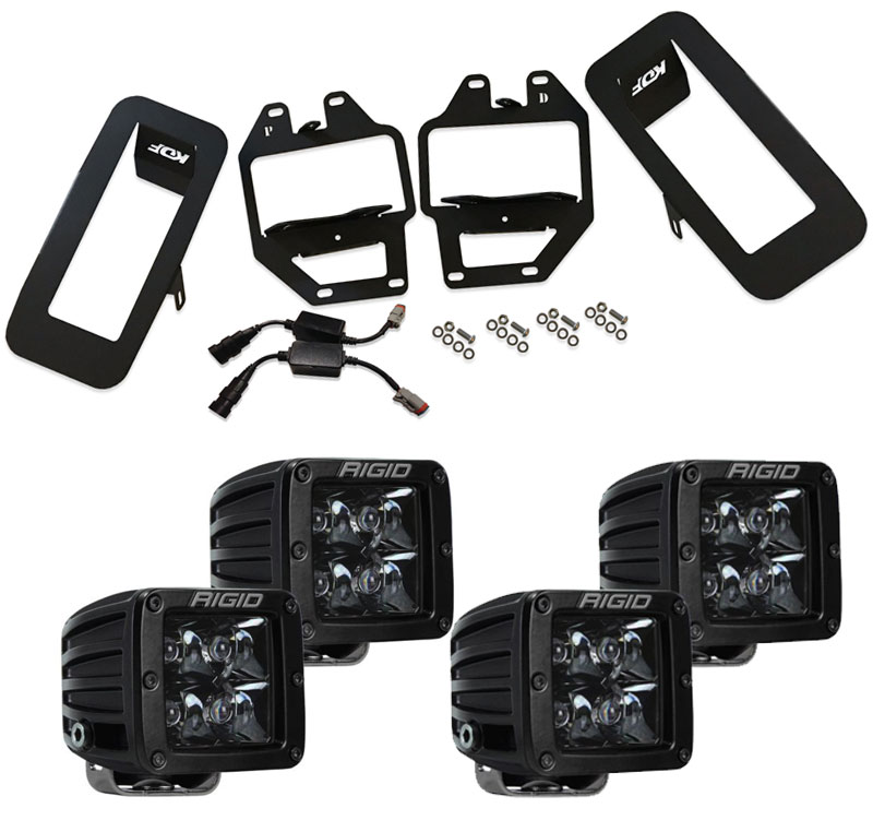 2018-2019 F150 Dual LED Light Kit PACKAGE DEAL