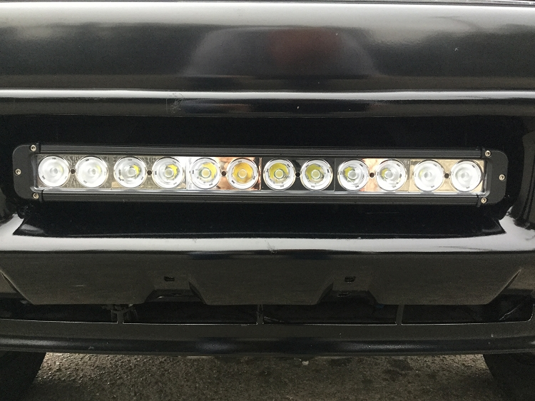 Bumper brackets for 20 led light bar 995 04 ford superduty f250 quick view aloadofball Images
