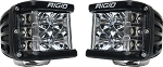 Rigid Industries D-SS PRO - Dually Side Shooter - Flood Pair