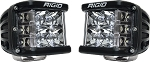 Rigid Industries D-SS PRO- Dually Side Shooter - Spot Pair