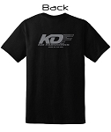 KDF Grey Logo T-Shirt