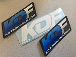 KD Fabworks KDF - Sticker Pack