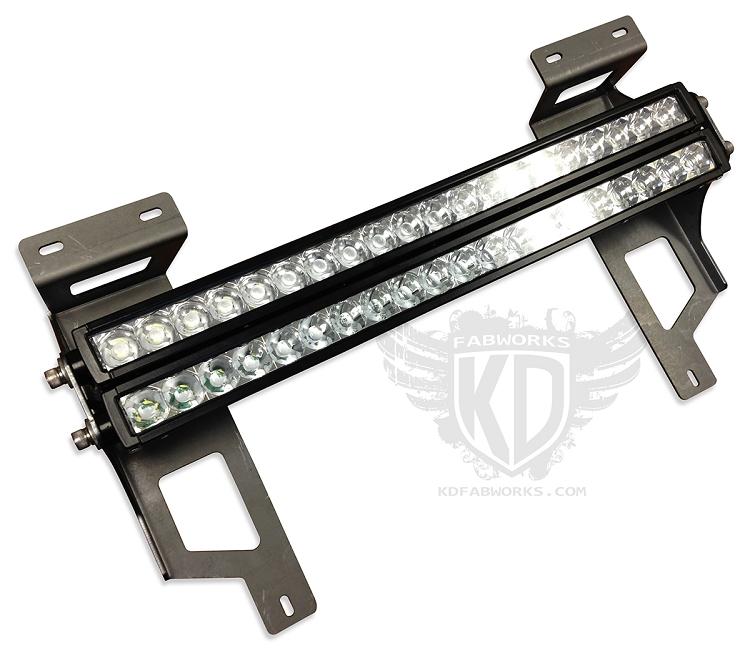 bumper brackets for 20 u0026quot  led light bars