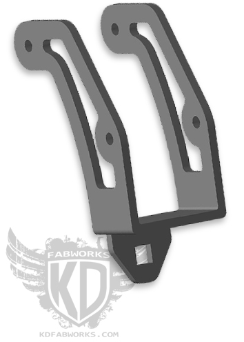 99-16 F250/350 Pod Light Adapter Bracket
