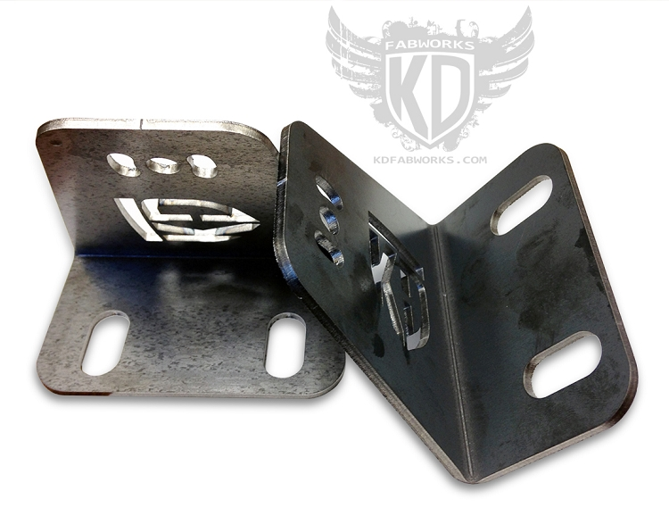 Bumper Brackets for curved 40