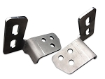 Tow Hook Eliminator Brackets - 11-16 Ford Super Duty