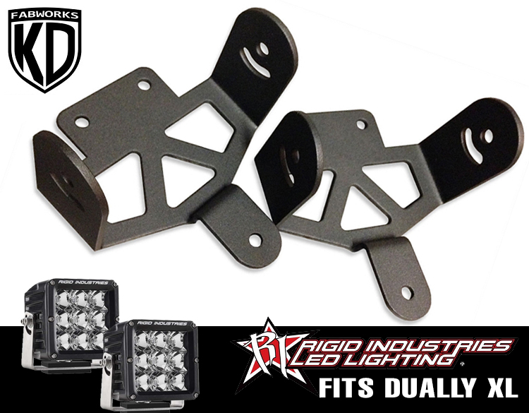11-16 F250/350 Rigid Industries Dually XL adapters
