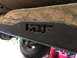 07-17 Jeep Wrangler JKU 4-Door Gas Tank Skid Plate