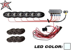 A-Series Rock PRO Light Kit - 6 Lights (Cool White)