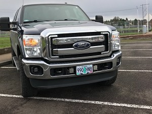 2011-2016 F250/350 Multi Mount Light Kit