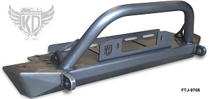 "97-06 TJ Front Rock Crawler 43"" Bumper with Trail Bar"