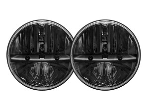 "Rigid Industries 7"" Round Lens w/ H13 to H4 Adapter - PAIR"